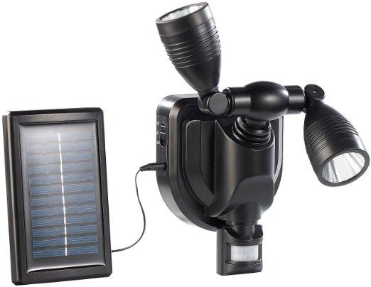 Lunartec Solar-Duo-Strahler mit PIR