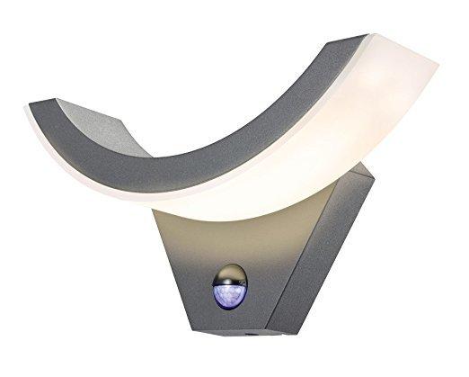 Esotec Moderne LED Sensor Außenwandleuchte