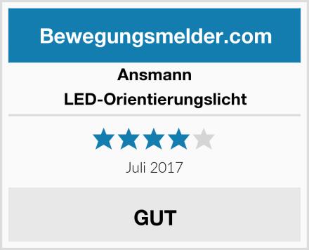 Ansmann LED-Orientierungslicht Test