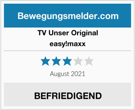TV Unser Original easy!maxx Test