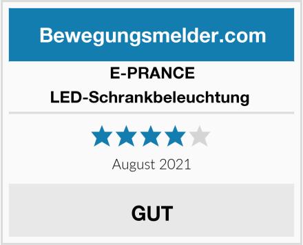 E-PRANCE LED-Schrankbeleuchtung  Test