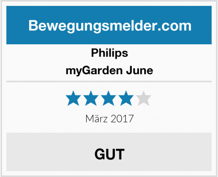 Philips myGarden June Test
