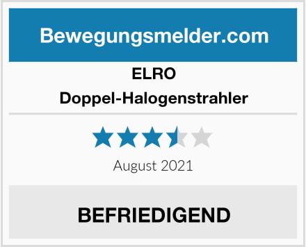 Elro Doppel-Halogenstrahler Test