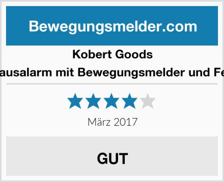 Kobert Goods Drahtloser Hausalarm mit Bewegungsmelder und Fernbedienung Test