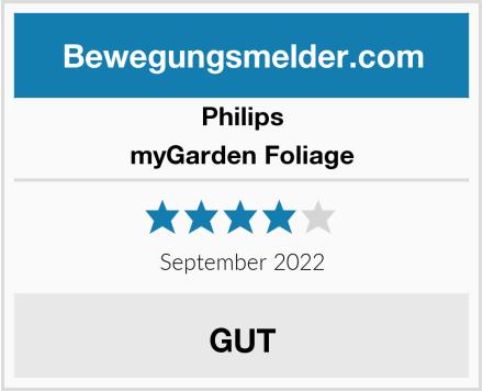 Philips myGarden Foliage Test