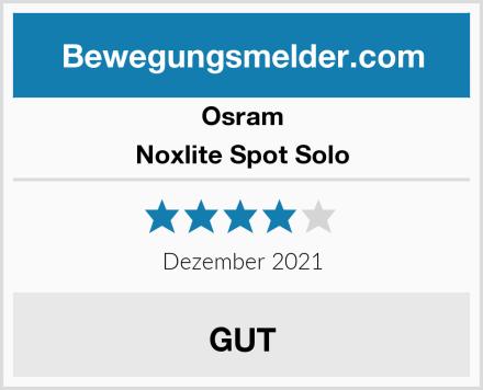 Osram Noxlite Spot Solo Test