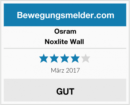 Osram Noxlite Wall  Test