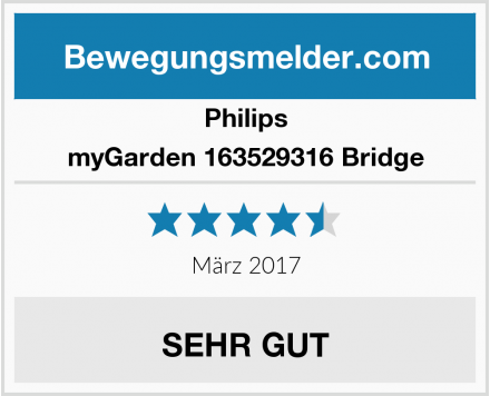 Philips myGarden 163529316 Bridge Test