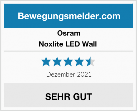 Osram Noxlite LED Wall  Test