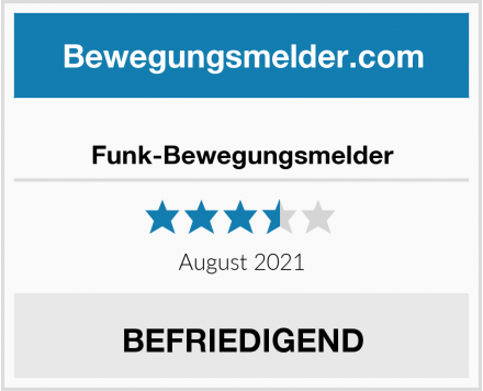 No Name Funk-Bewegungsmelder Test