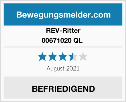 REV-Ritter 00671020 QL  Test