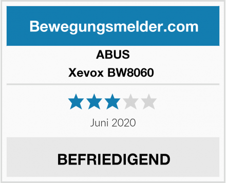 ABUS Xevox BW8060  Test