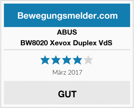 ABUS BW8020 Xevox Duplex VdS  Test