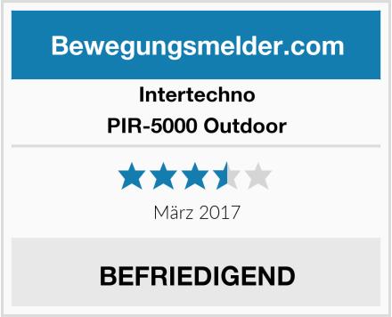 Intertechno PIR-5000 Outdoor Test