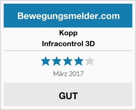 Kopp Infracontrol 3D Test