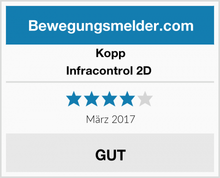 Kopp Infracontrol 2D  Test