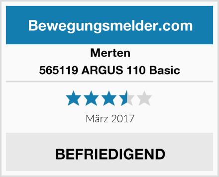 Merten 565119 ARGUS 110 Basic Test