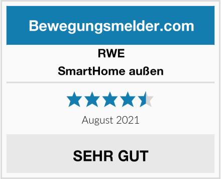 RWE SmartHome außen Test