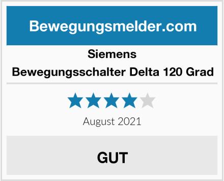 Siemens Bewegungsschalter Delta 120 Grad Test