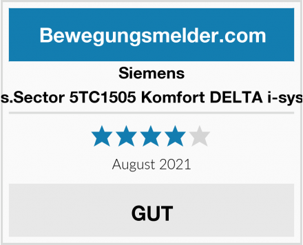 Siemens Indus.Sector 5TC1505 Komfort DELTA i-system  Test