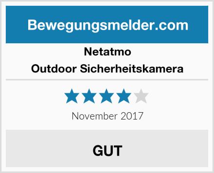 Netatmo Outdoor Sicherheitskamera Test