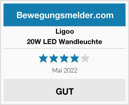 Ligoo 20W LED Wandleuchte Test