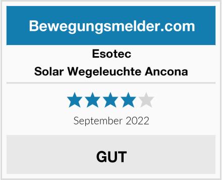 Esotec Solar Wegeleuchte Ancona  Test