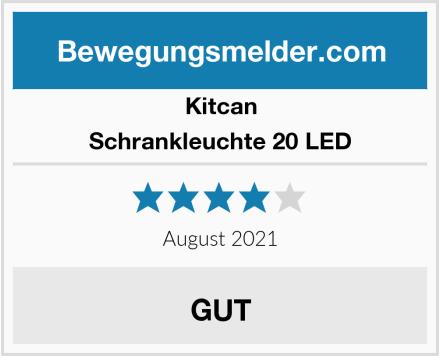 Kitcan Schrankleuchte 20 LED Test
