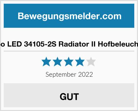 Globo LED 34105-2S Radiator II Hofbeleuchtung Test