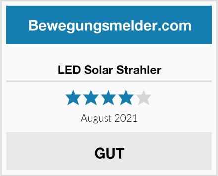 LED Solar Strahler Test