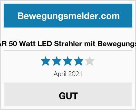 SYLSTAR 50 Watt LED Strahler mit Bewegungsmelder Test
