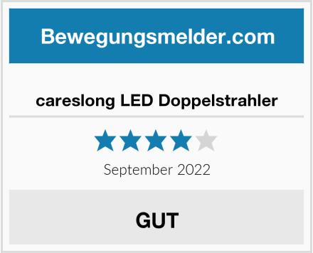 careslong LED Doppelstrahler Test