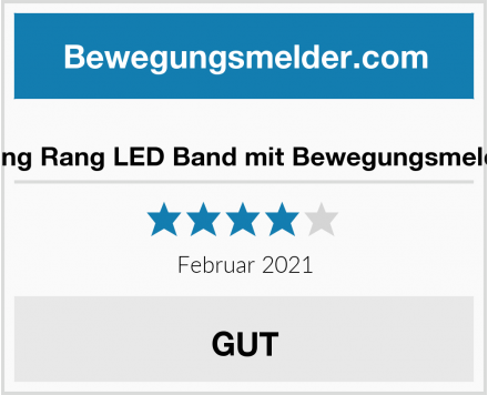 Dong Rang LED Band mit Bewegungsmelder Test