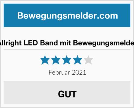 Allright LED Band mit Bewegungsmelder Test