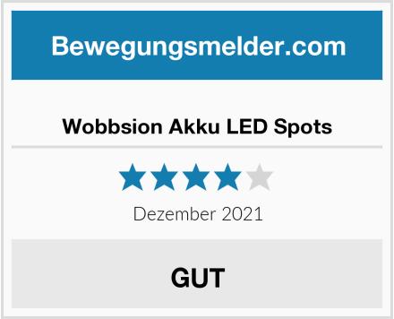 Wobbsion Akku LED Spots Test