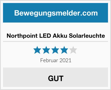 Northpoint LED Akku Solarleuchte Test