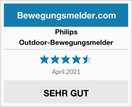 Philips Outdoor-Bewegungsmelder Test
