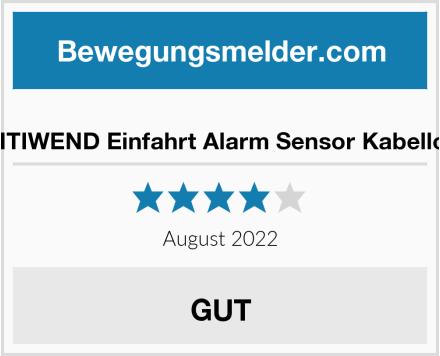 BITIWEND Einfahrt Alarm Sensor Kabellos Test
