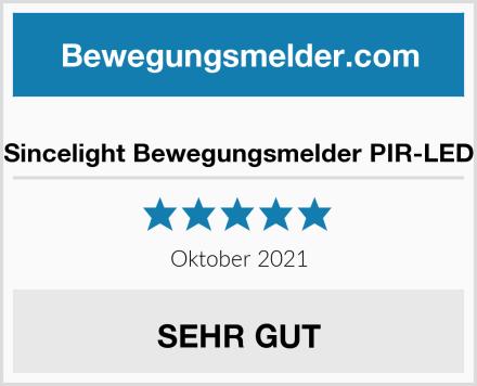Sincelight Bewegungsmelder PIR-LED Test
