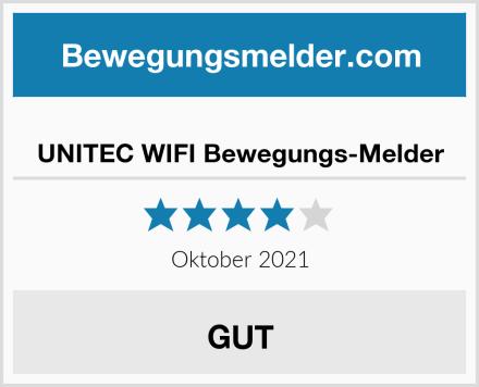 UNITEC WIFI Bewegungs-Melder Test