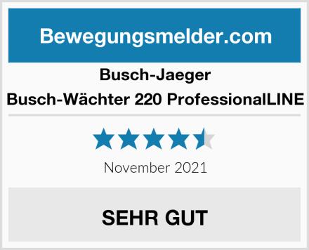 Busch-Jaeger Busch-Wächter 220 ProfessionalLINE Test