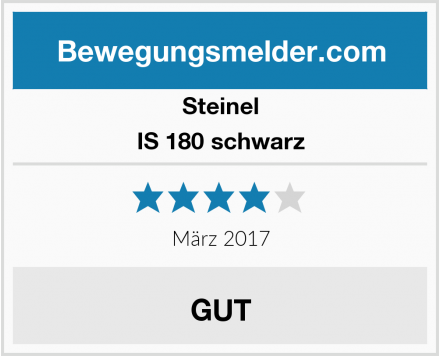 Steinel IS 180 schwarz Test