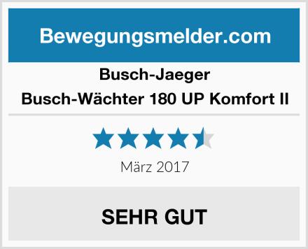 Busch-Jaeger Busch-Wächter 180 UP Komfort II Test