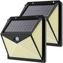 Hepside LED Outdoor Solarlampen 2er Set