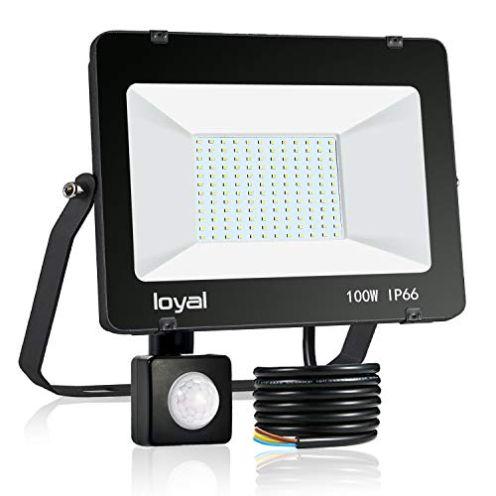 loyal LED Outdoor Strahler mit Bewegungsmelder