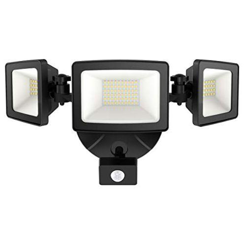 Onforu 50 Watt LED Strahler mit Bewegungsmelder